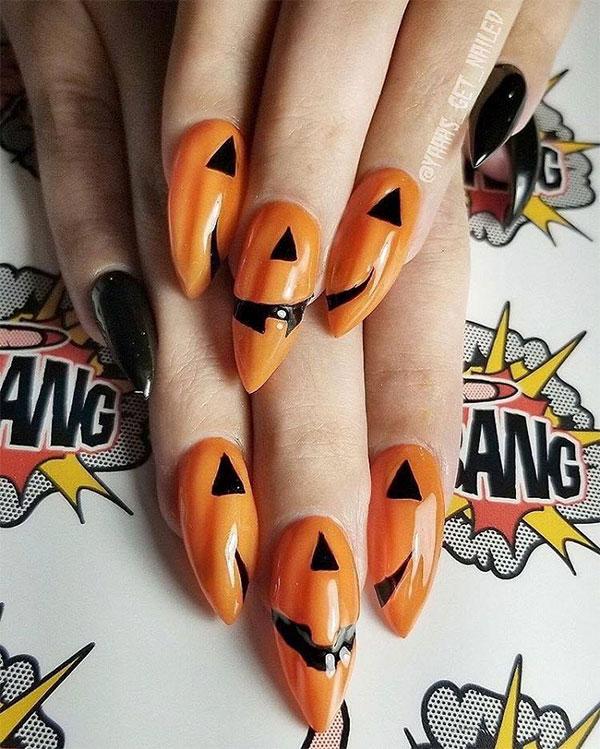 Instagram вдъхновение за маникюр с привкус на Хелоуин