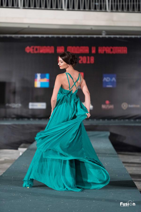 Руслана Канева представя Instinct по време на Фестивала на Модата и Красотата 2018