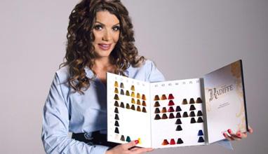 Вили Боршукова създаде новата българска боя за коса КАДИФФЕ