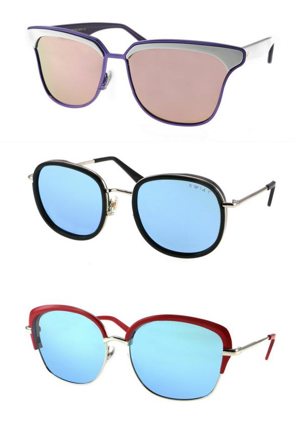 Новите слънчеви очила са все по-цветни и интересни
