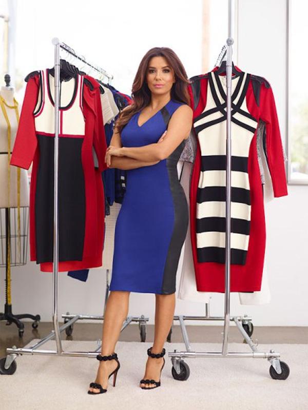 Ева Лонгория с дебют по време на Седмицата на модата в Ню Йорк