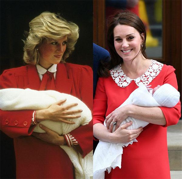 Първи снимки на Кейт Мидълтън и новородения престолонаследник