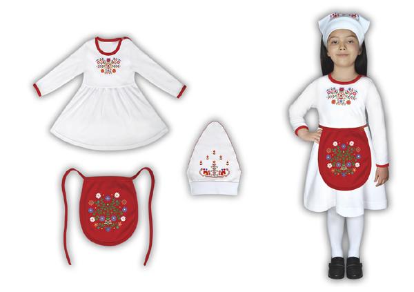 Модна къща Miss Match с колекция фолклорни облекла за най-малките