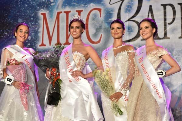 Михаела Йорданова бе избрана за  Мис Варна 2018