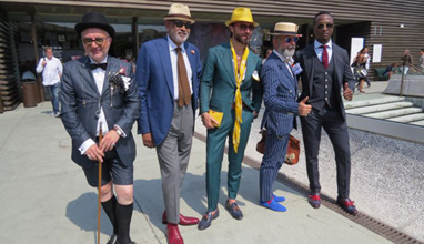 Pitti Uomo Firenze - the Spectacular composition of men's elegance or the shortcut to the belief that the modern man is a Dandy