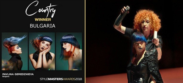 Български фризьор – сред финалистите на световния конкурс  Style Masters International Awards 2018 в Барселона