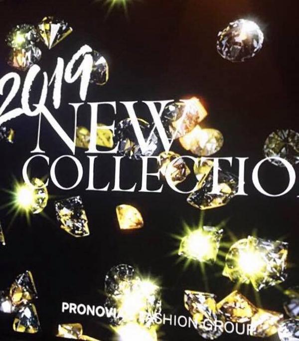 Брилянтин на представянето на колекция 2019 на PRONOVIAS FASHION GROUP в Мадрид
