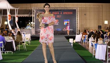 Purple 17 by Vicky Jumparova на Фестивала на Модата и Красотата 2017