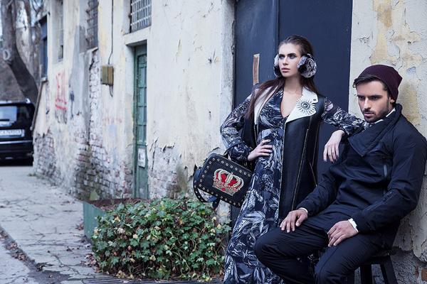 Куини-Алис и Ивел Йорданов авантюристи в новия Harper's Bazaar Bulgaria