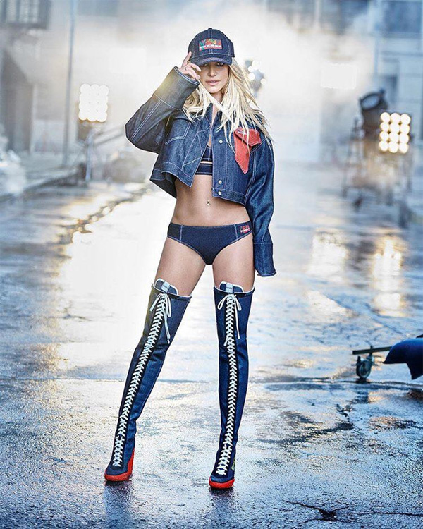 Бритни Спиърс е новото рекламно лице на Kenzo
