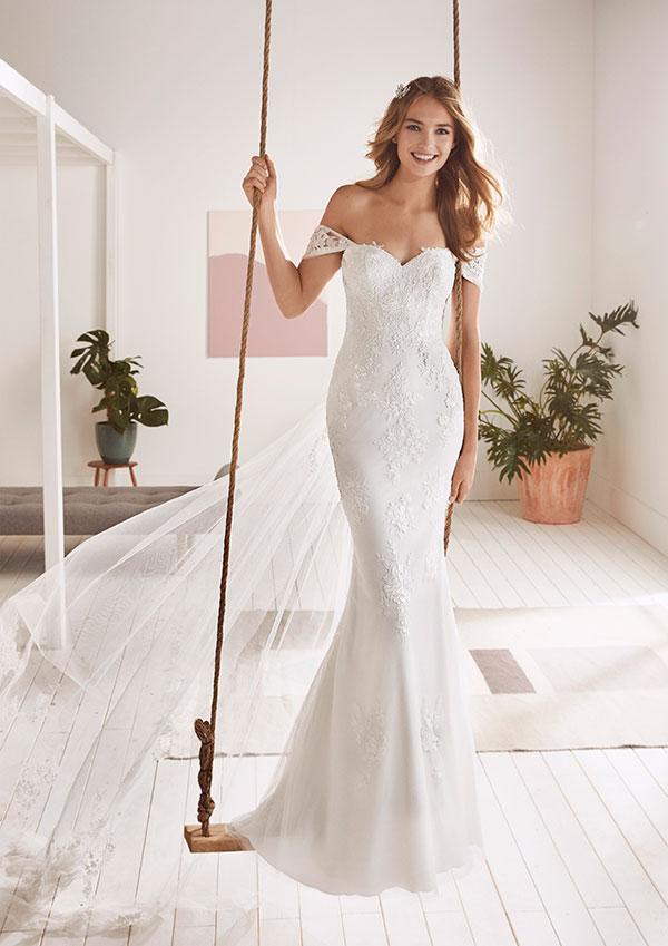 Булчински рокли - колекция 2019, налични в Брилянтин!