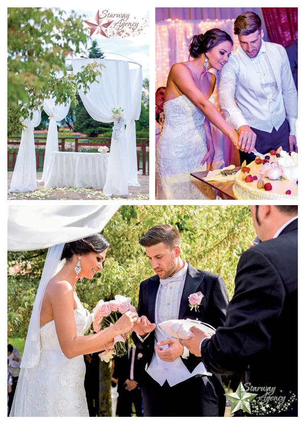 Сватба с аромат на рози