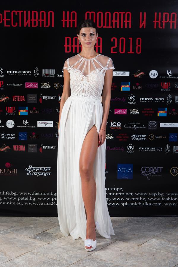 Модна къща Тонена показа сватбена мода на Фестивала на Модата и Красотата 2018