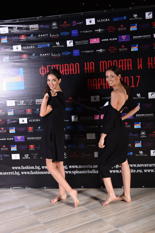 Колекция на Veteida на Фестивалa на модата и красотата 2017 Варна