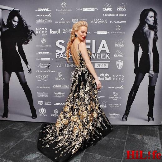 Дизайнерката Поля Кинова представи част от своята най-нова колекция за 2019 на сцената на SOFIA FASHION WEEK есен-зима 2018/2019
