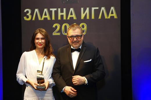 Зорница  Димитрова и проф. Любомир Стойков.