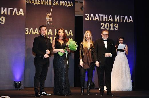 Христо  Чучев, Поля Кинова, Вяра Георгиева и проф. Любомир Стойков по време на  церемонията.