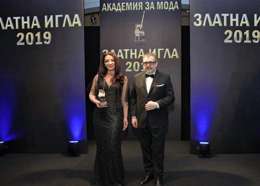 Поля  Кинова и проф. Любомир Стойков.
