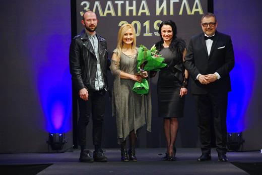 Николай  Божилов, Аксел Харди, Мила Захариева и проф. Любомир Стойков по време на  церемонията.