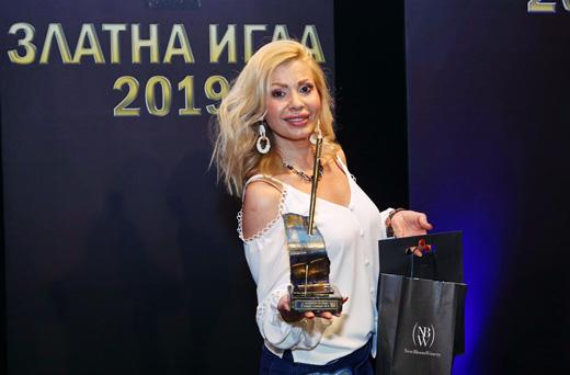 "Джулия  Ангелова – ""Моден гримьор"" за 2019-та."