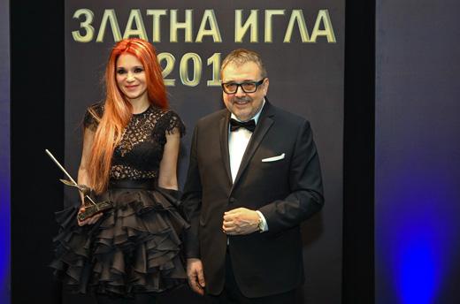 Невена Николова и проф. Любомир Стойков.