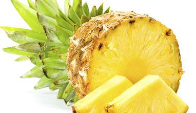 Приложения на ананаса в разкрасителните процедури