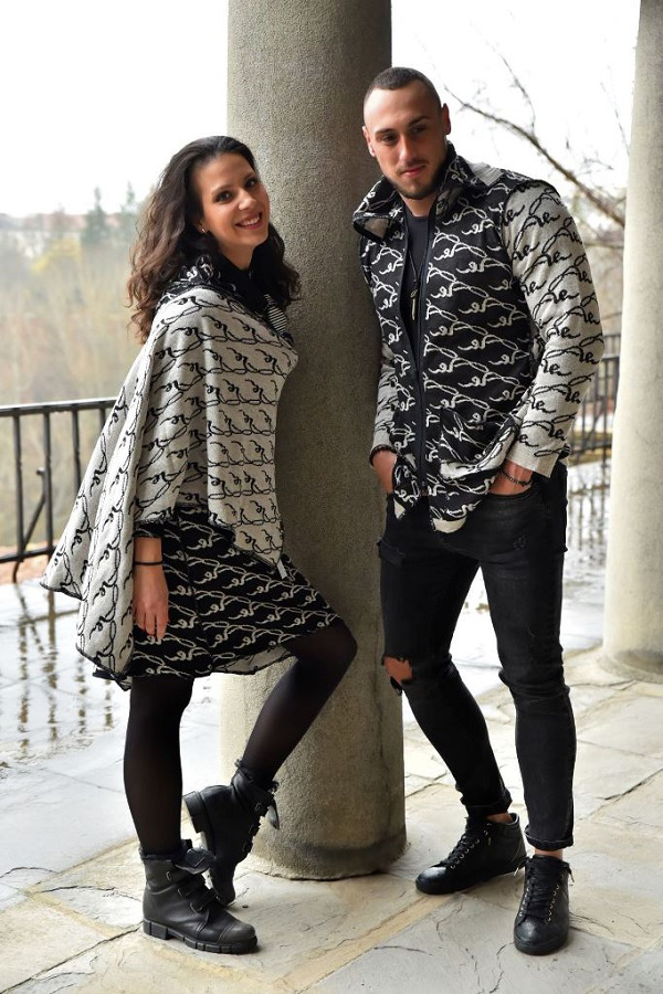 Аксел Харди създаде уникално плетиво