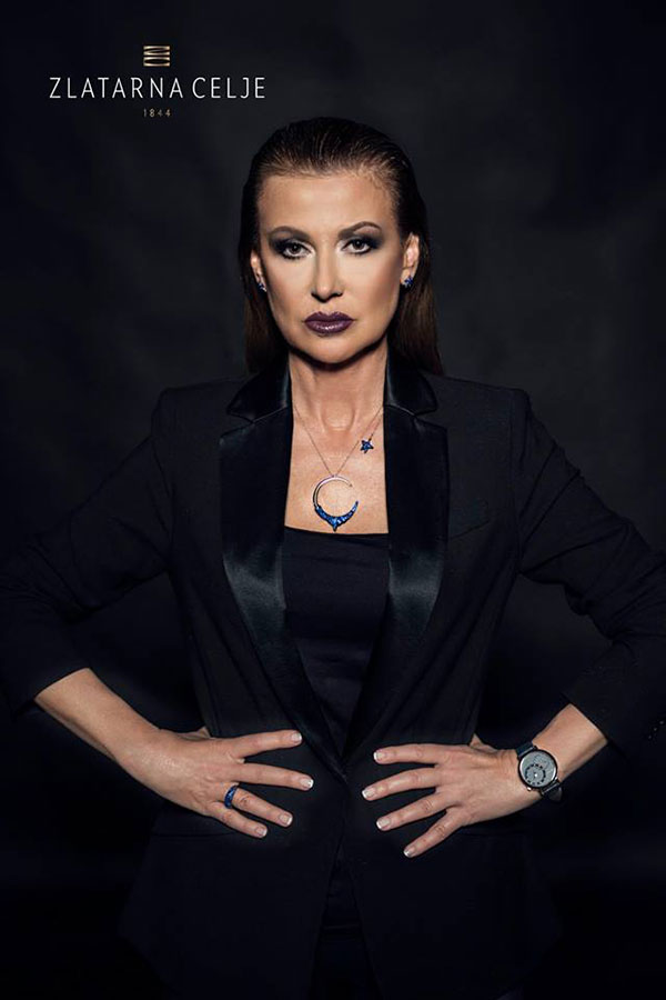 Илиана Раева рекламно лице на Zlatarna Celje Bulgaria