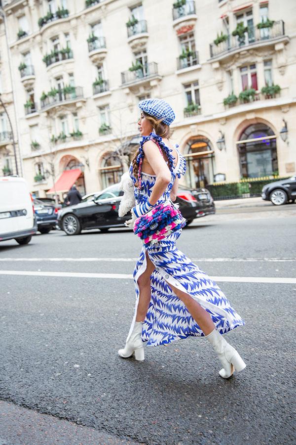 Българският пудел Саша отново сред ВИП-гостите на Chanel