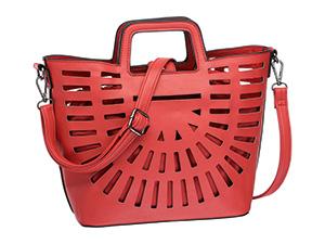 Красива изрязана чанта width=