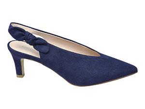 Отворени обувки със среден ток
