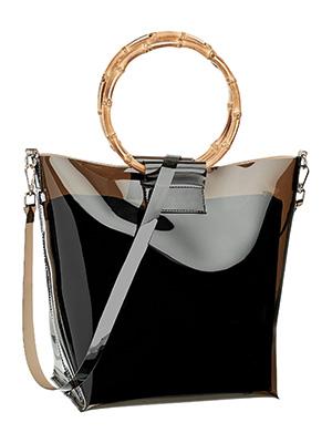 Лачена чанта