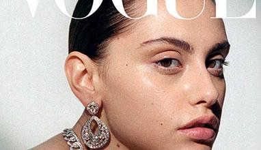 Ивелина Чоева грее от корицата на Vogue Украйна