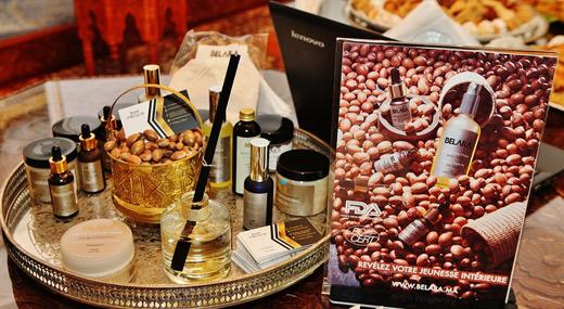 Традиционното за Мароко арганово масло.