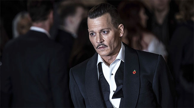 Johnny Depp is the winner of Most Stylish Men February 2019