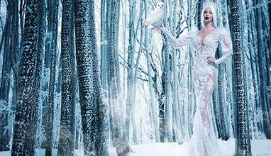 Петя Велкова като Ледена кралица с над 200 диаманта в новата колекция за 2019 на PALOMA FASHION