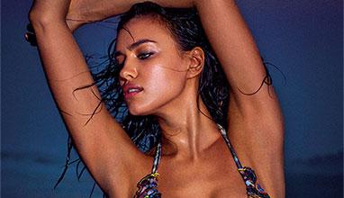 Ирина Шейк бе провъзгласена за най-добър модел на бански костюми в света