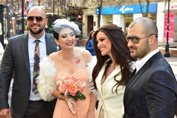 Софи Маринова се омъжи в рокля на София Борисова