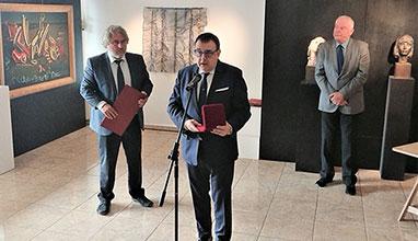 Професор Любомир Стойков бе награден със Златен Век - звезда