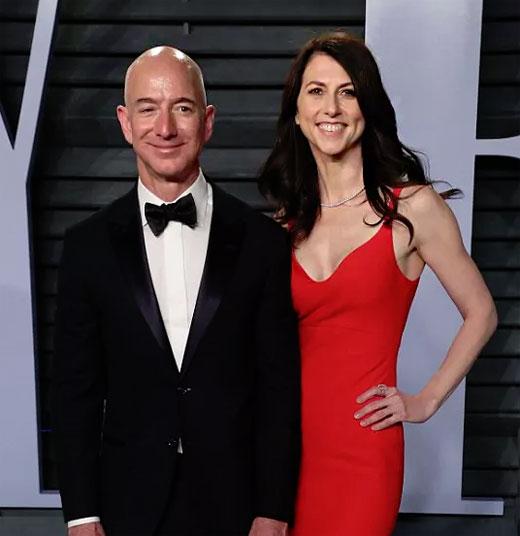 Джеф и Макензи Безос преди развода си