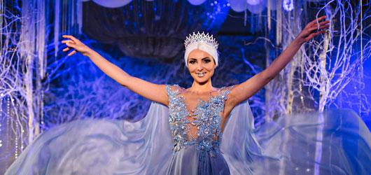 Ледената кралица в зимната приказка на Поля Кинова