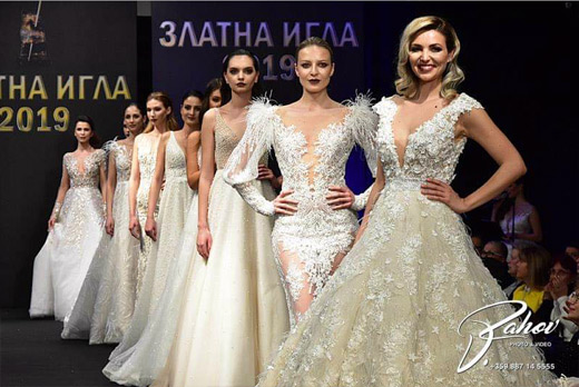 Златна игла за Paloma Fashion и дизайнер Поля Кинова