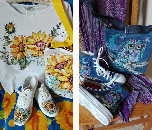 Рисунки върху дрехи