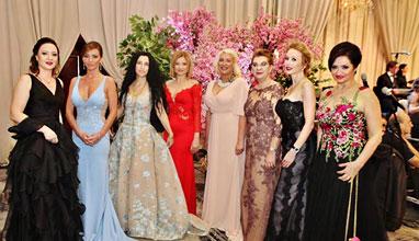 Официални  рокли от Bridal Fashion на 19-ия виенски балв София
