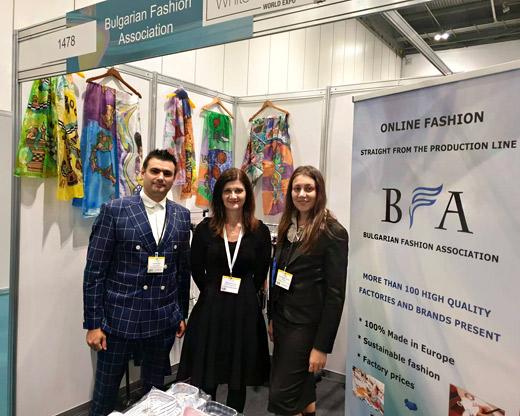 Българска Модна Асоциация с щанд на White Label Expo в Лондон