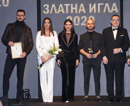 Добромир Киряков, Галена, Зорница Димитрова, Борче Ристовски и проф. Любомир  Стойков (от ляво надясно)