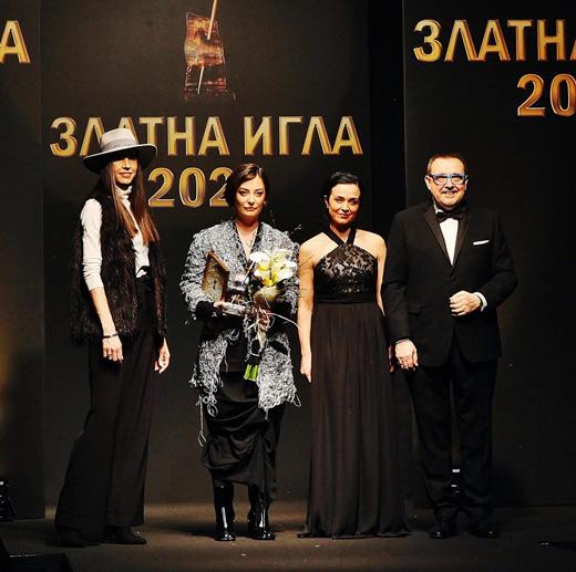 Мария Георгиева-Савова, Теодора Спасова, Мила Захариева и проф. Любомир Стойков  (от ляво надясно)