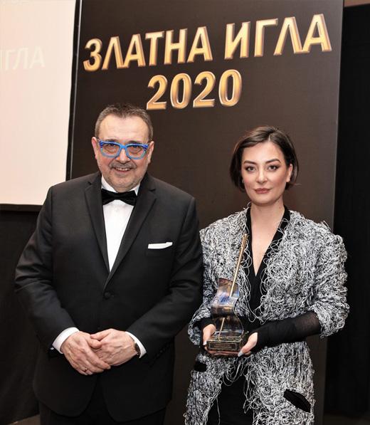 Проф. Любомир Стойков и Теодора Спасова