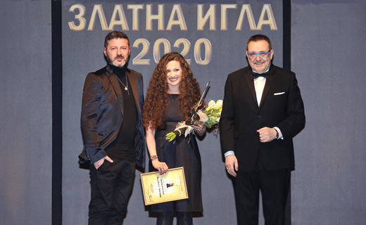 Светослав Колчагов, Ина Асса и проф. Любомир Стойков (от ляво надясно)