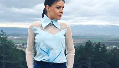 Дизайнерката Диляна  Матеева се вдъхновява от Майка Тереза
